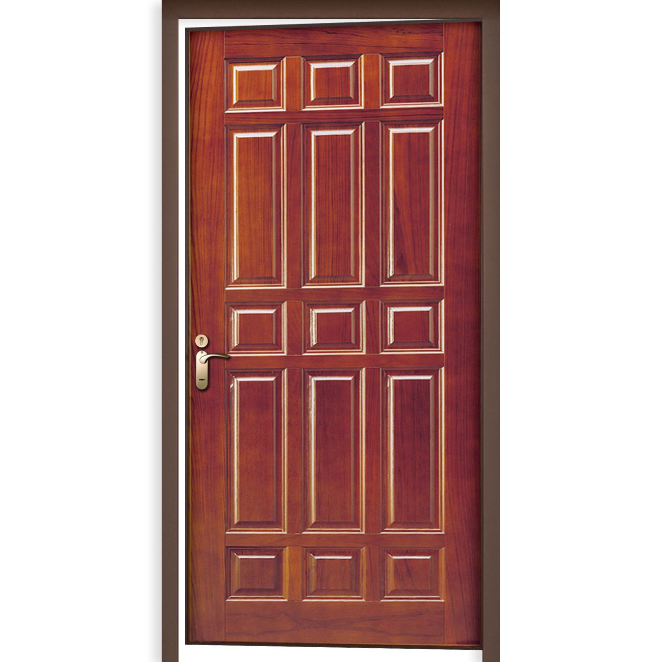 Steel Wooden Door : Wood encased steel door single prolumis